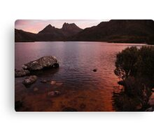 Beautiful Tasmania - another day draws to a close Canvas Print