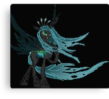 Queen Chrysalis Pixel My Little Pony Brony Pegasister Canvas Print