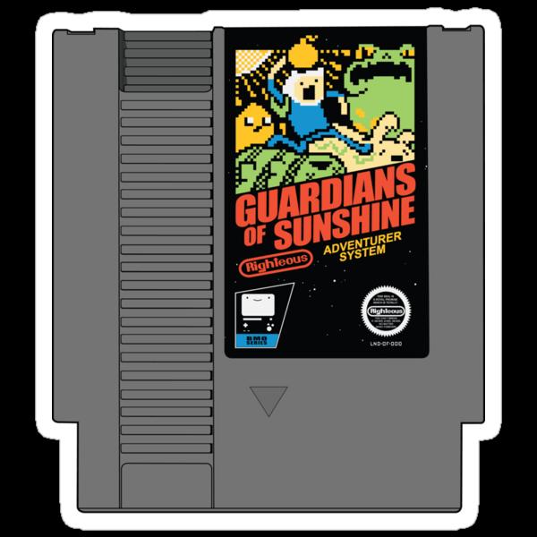 Guardians of Sunshine: Cartridge by Caddywompus