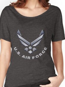 U.  S. Air Force Symbol for Dark Colors Women's Relaxed Fit T-Shirt