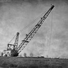 Abandoned Dragline by Sandy Keeton