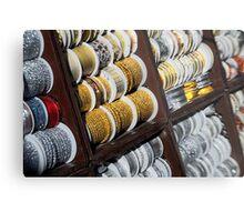Brocade Ribbon Metal Print
