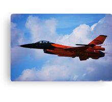 F-16 Falcon Fighter Jet Canvas Print