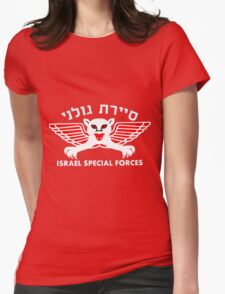 Golani Special Forces (Recon) Logo for Dark Colors Womens Fitted T-Shirt
