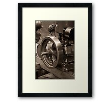 Old Glory Wolseley Engine Framed Print