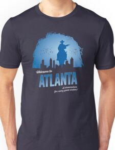 Welcome To Atlanta (blue) Unisex T-Shirt