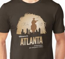 Welcome To Atlanta (brown) Unisex T-Shirt