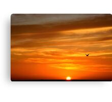 Sunset Heaven  Canvas Print