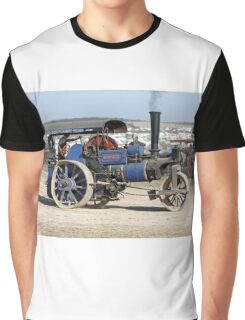 """1913 Aveling & Porter 10-ton Roller - """"Moby Dick"""" Graphic T-Shirt"""