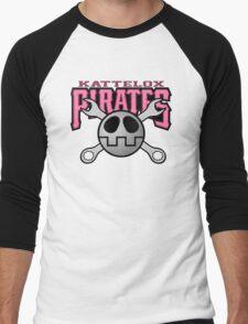 Kattelox Pirates - Bonne Pink Men's Baseball ¾ T-Shirt