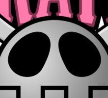 Kattelox Pirates - Bonne Pink Sticker