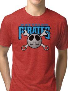 Kattelox Pirates - Volnutt Blue Tri-blend T-Shirt