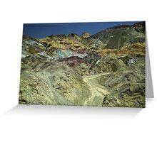 Coloured Hillside Greeting Card
