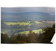 Herefordshire in Autumn Poster