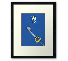 Kingdom Hearts Framed Print