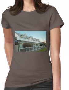 Williamstown Terraced Cottages Womens Fitted T-Shirt