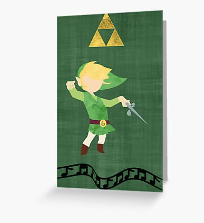 The Legend of Zelda : The Windwaker Greeting Card