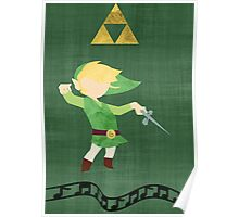 The Legend of Zelda : The Windwaker Poster
