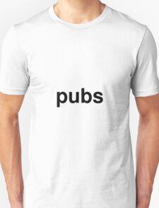 pubs Unisex T-Shirt