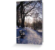 Hammonds pond, Winter Greeting Card