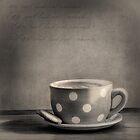 Coffee Break Black and White by Ian Barber