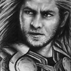 Thor - God of Thunder ATC/ACEO by robdolbs