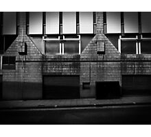 Alleyways of big time business.  Photographic Print