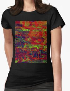 0231 Abstract Thought Womens Fitted T-Shirt