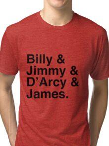 Billy & Jimmy & D'Arcy & James Smashing Pumpkins T-Shirt Tri-blend T-Shirt
