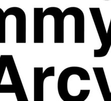 Billy & Jimmy & D'Arcy & James Smashing Pumpkins T-Shirt Sticker