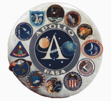 Apollo Missions Composite Logo One Piece - Short Sleeve