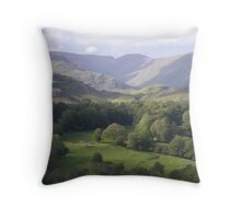 COUNTRY PATCHES Throw Pillow