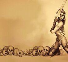Warrior Girl by granados602