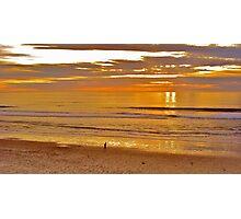 Moonlight Beach Photographic Print