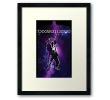 Doctor Disco! Framed Print