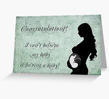 Baby Congratulations Greeting Card