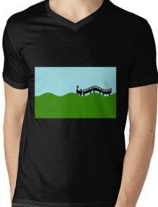 Choo Choo train Mens V-Neck T-Shirt
