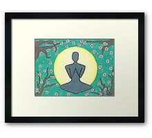 Zen Meditation Framed Print