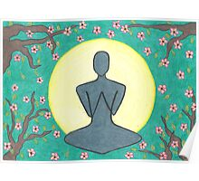 Zen Meditation Poster