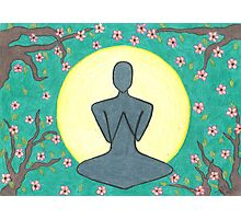 Zen Meditation Photographic Print
