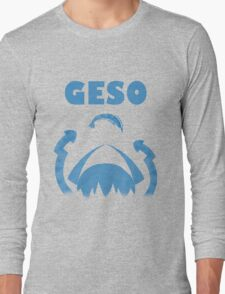 "GESO - ""Amity"" Blue version  Long Sleeve T-Shirt"