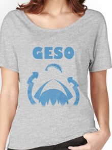 "GESO - ""Amity"" Blue version  Women's Relaxed Fit T-Shirt"