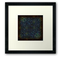 Nighttime in the laboratory Framed Print