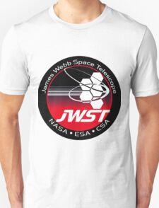 James Webb Space Telescope Component Logo Unisex T-Shirt