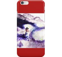 Christmas Morning Snow iPhone Case/Skin