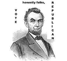 Honest Abe  Photographic Print