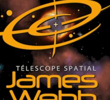 James Webb Space Telescope - NASA Program Logo Sticker