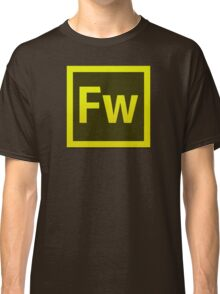 Fire Works CS6 Logo Classic T-Shirt
