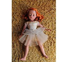 Redheaded doll Photographic Print