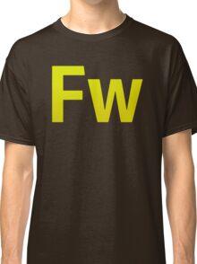 Fire Works CS6 Letters Classic T-Shirt